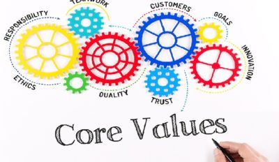 How values drive a company